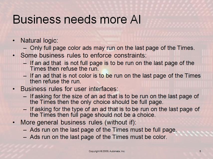AI beyond Fair Isaac